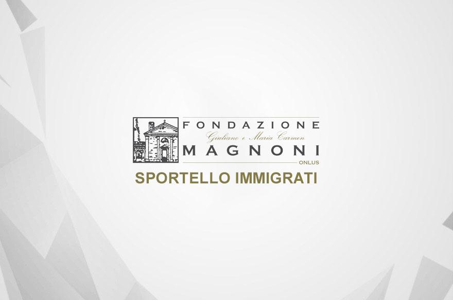 Progetti - Sportello Immigrati